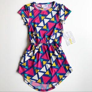 LulaRoe Mae Dress Size 2 NWT